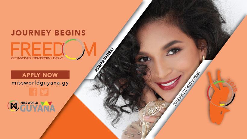 Miss World Guyana 2019 Competition Postponed!