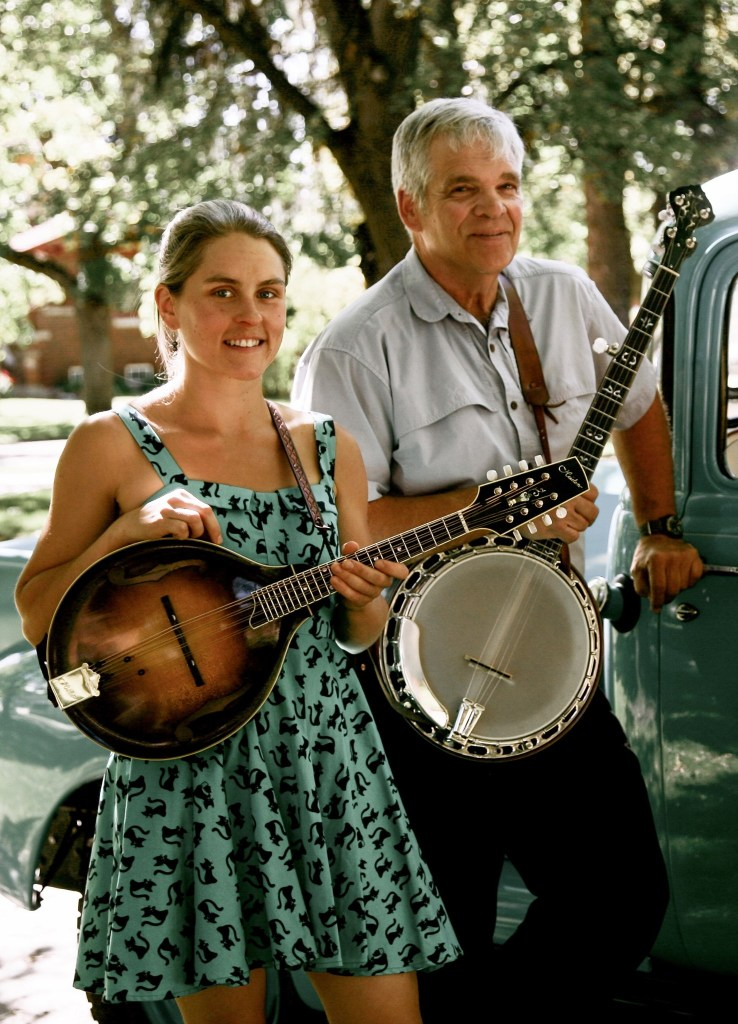 Britt and Jack from Pinegrass at the Hamilton Farmers Market Co-Op