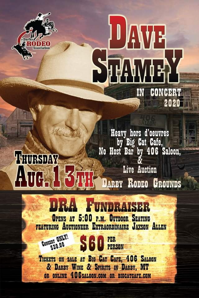 Dave Stamey in Concert in Darby Montana