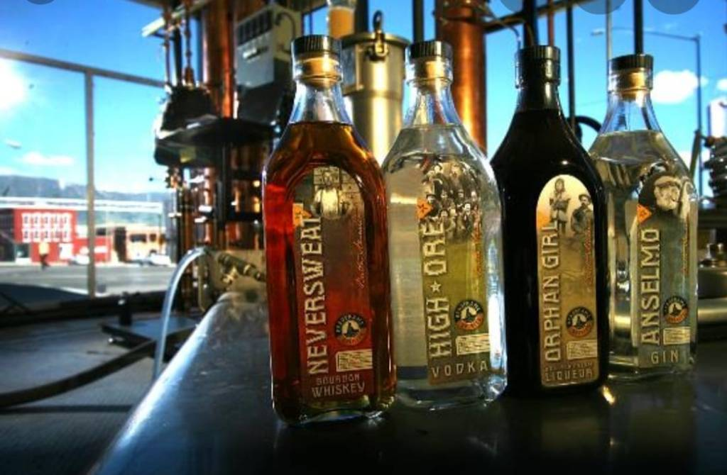 Headframe Spirits Tasting in Hamilton Montana