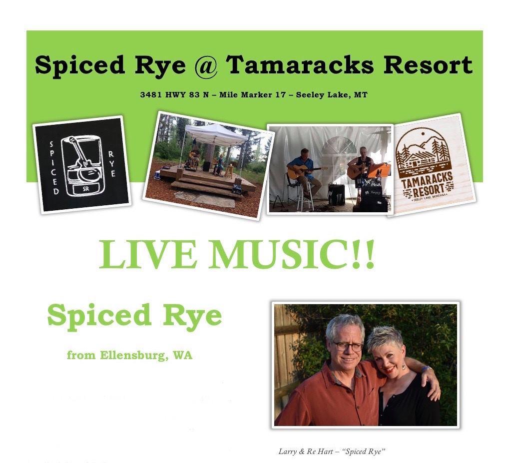 Spiced Rye at Tamaracks Resort in Seeley Lake Montana