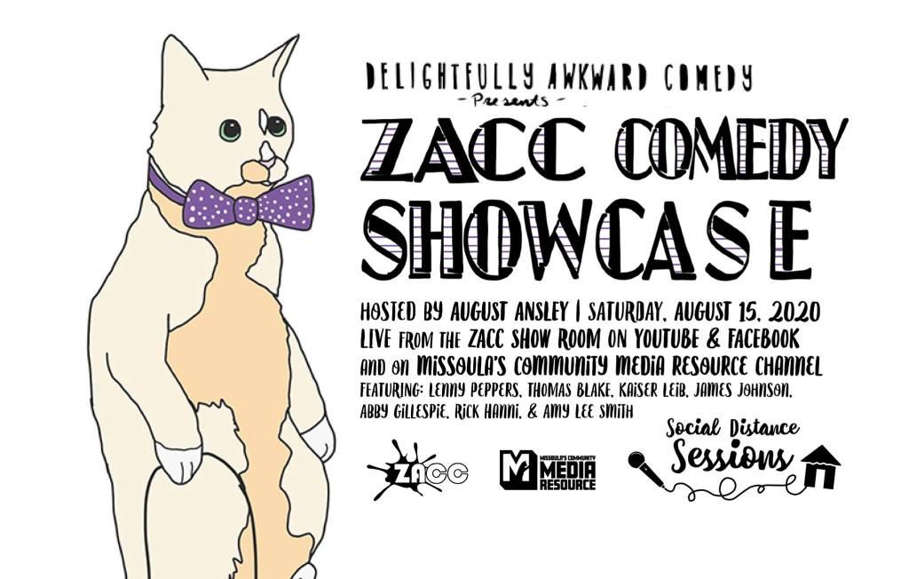 ZACC Comedy Showcase in Missoula Montana