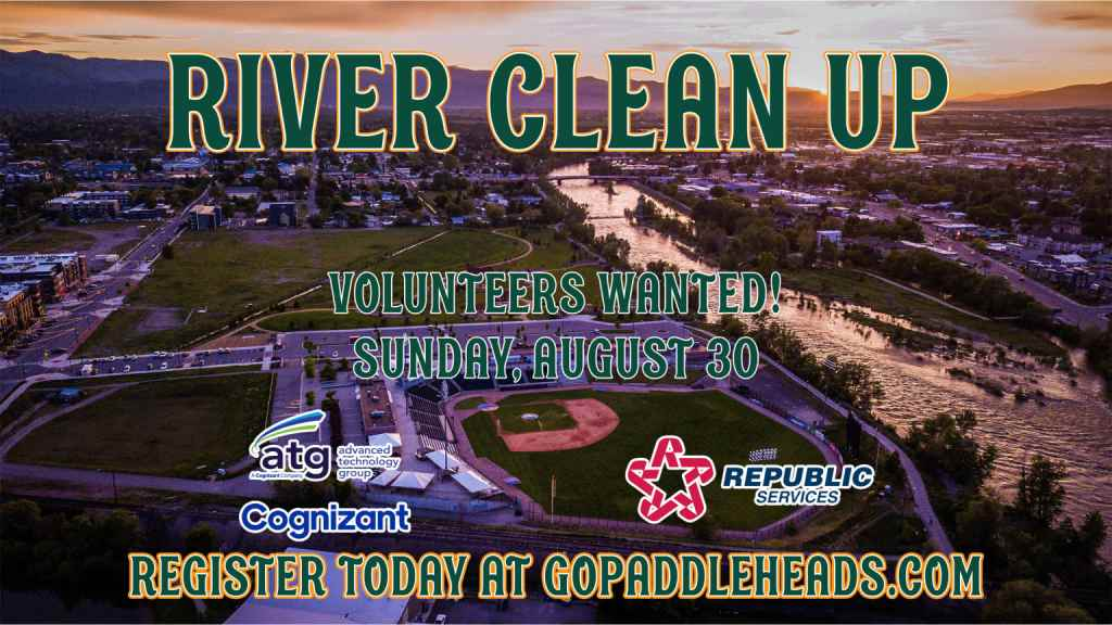 River Clean Up - Sunday, August 30