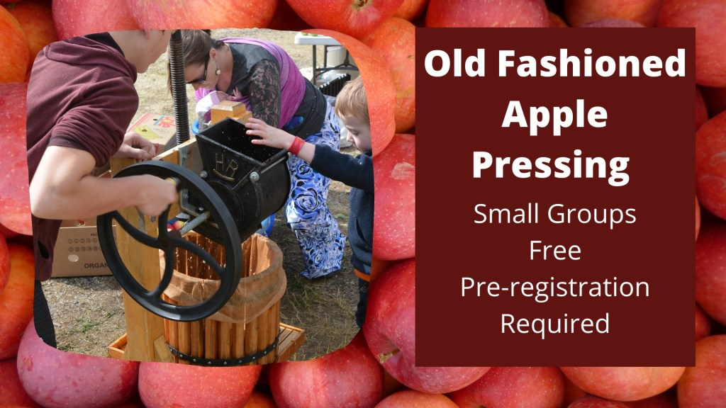 Old Fashioned Apple Pressing at The Historical Museum at Fort Missoula