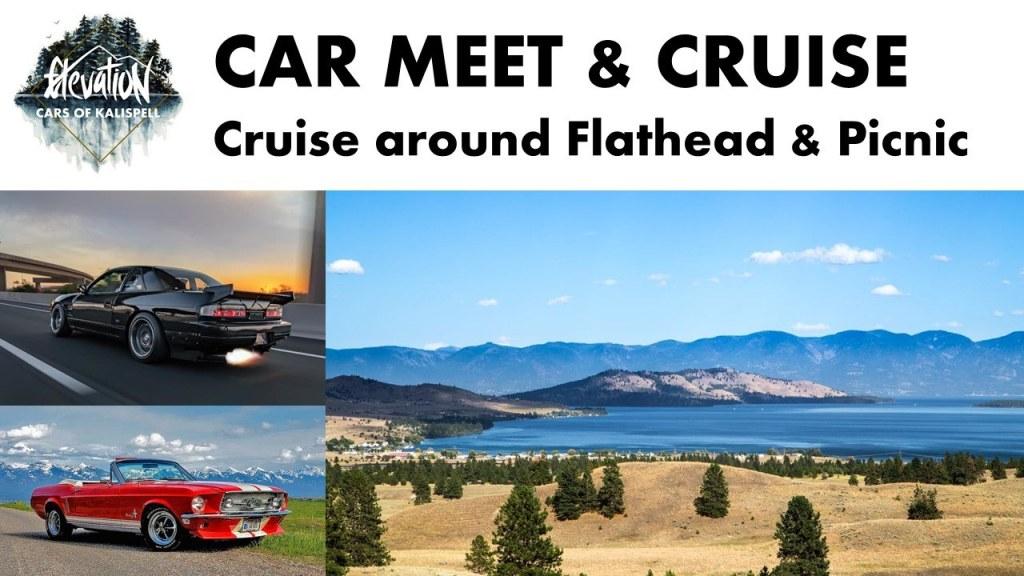 Car Meet & Cruise around Flathead Lake