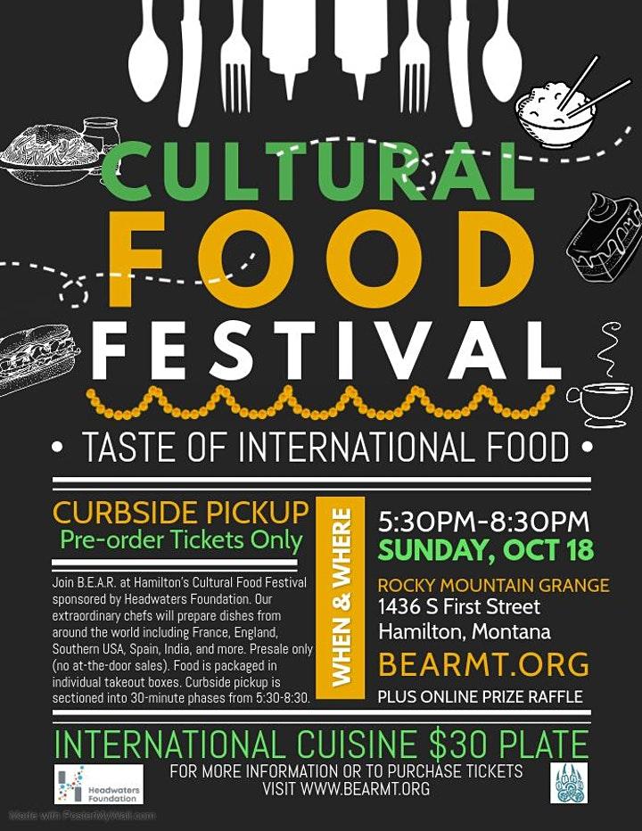 Cultural Food Festival