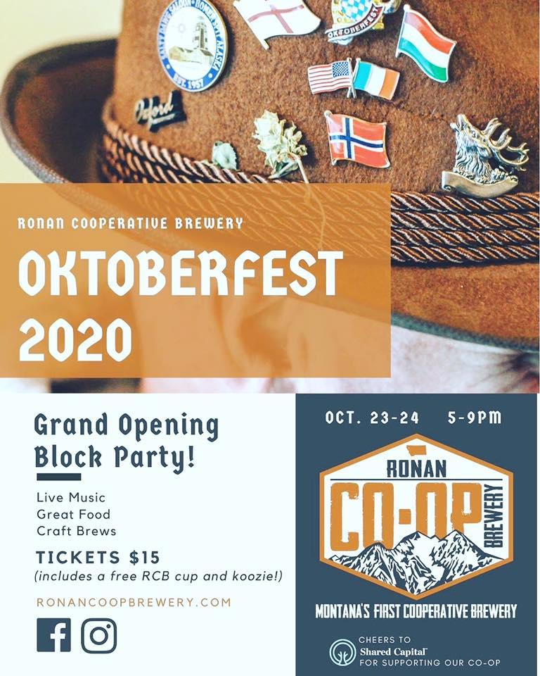 Ronan Cooperative Brewery Oktoberfest 2020