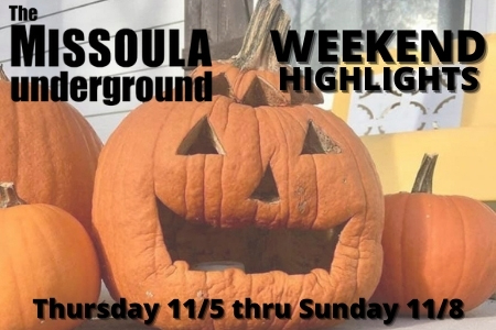 Weekend Event Pick - Nov 5-8, 2020