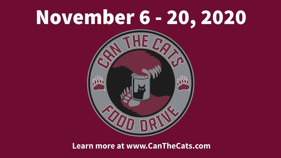 Can the Cats Food Drive