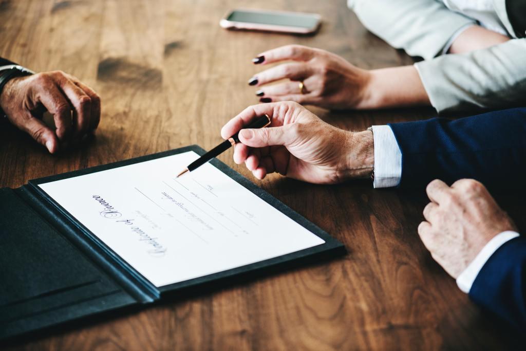 Quiet and confidential divorce