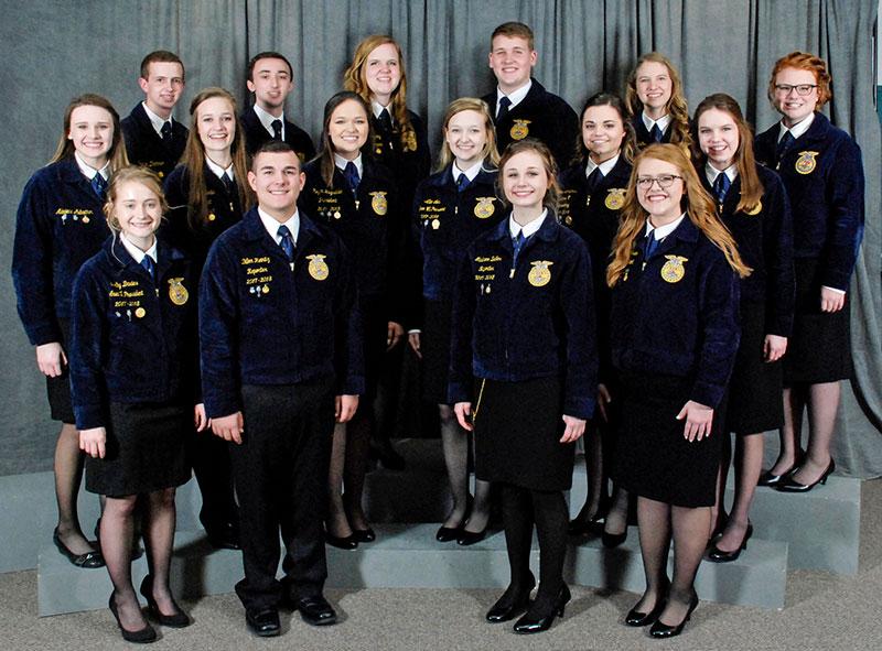 Missouri FFA 2018-19 Officers