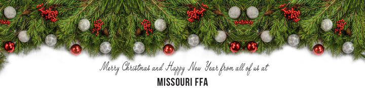 Merry Christmas from Missouri FFA