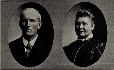 Abraham Lutz and wife