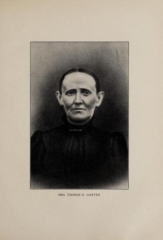 Thomas Nathaniel Garten wife, Sarah Jane Garten