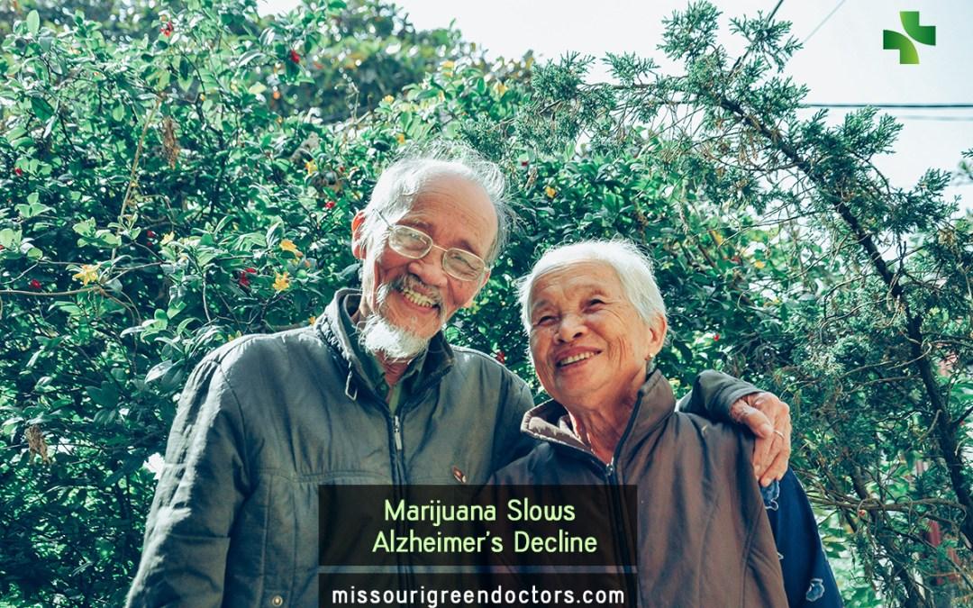 Marijuana Slows Alzheimer's Decline