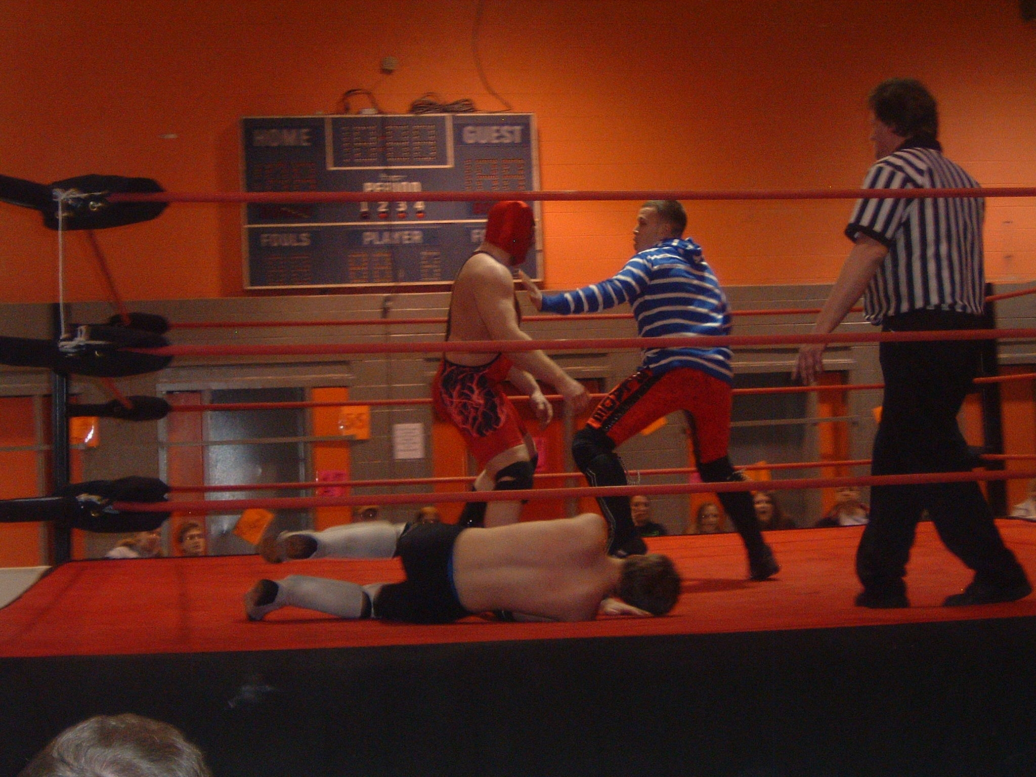 Ty Blade makes the save for young Jay Spade.