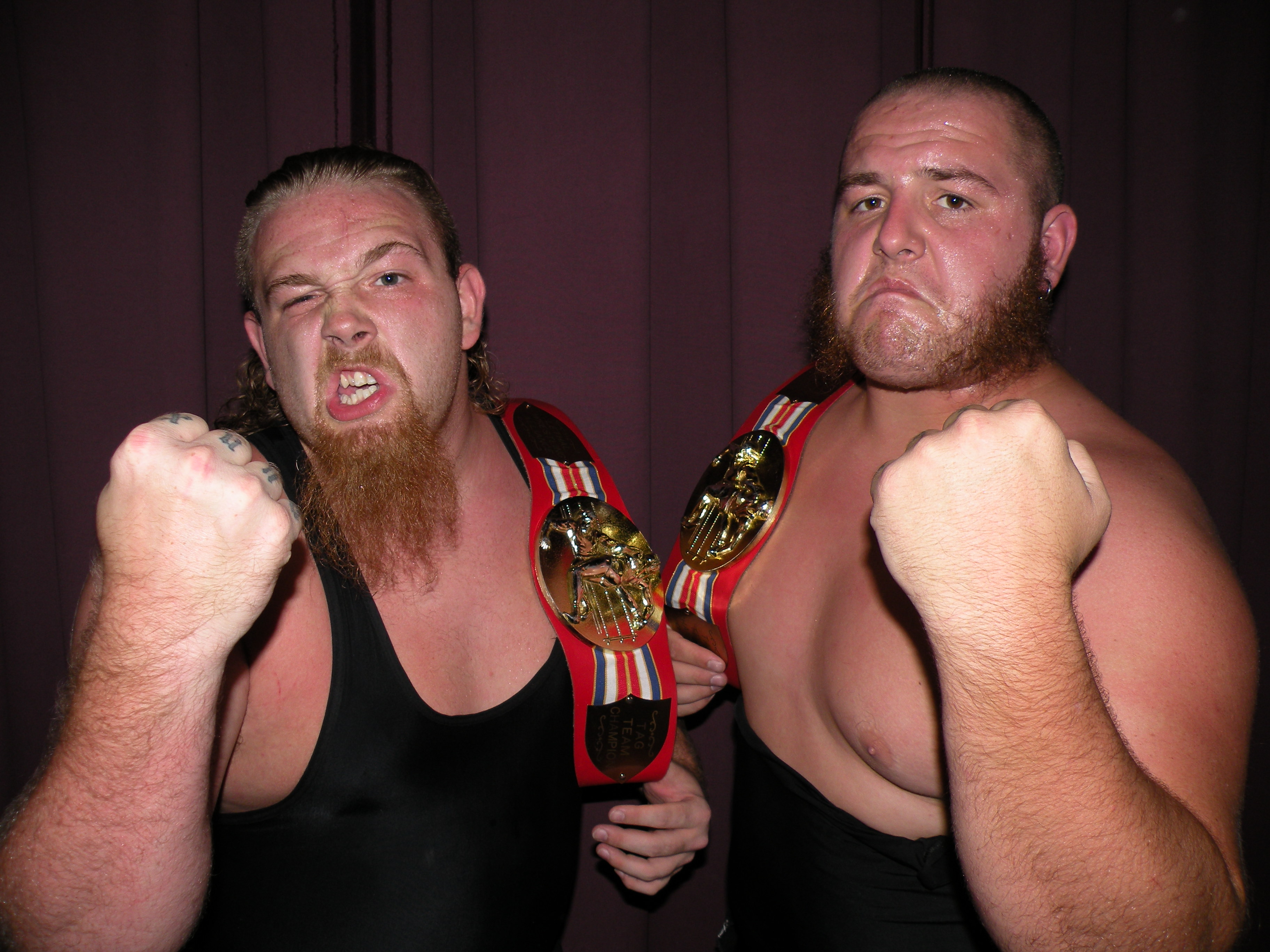 """Current LWA Champions The Hooligans(Photo Credit Brian """"Flair"""" Kelley)"""