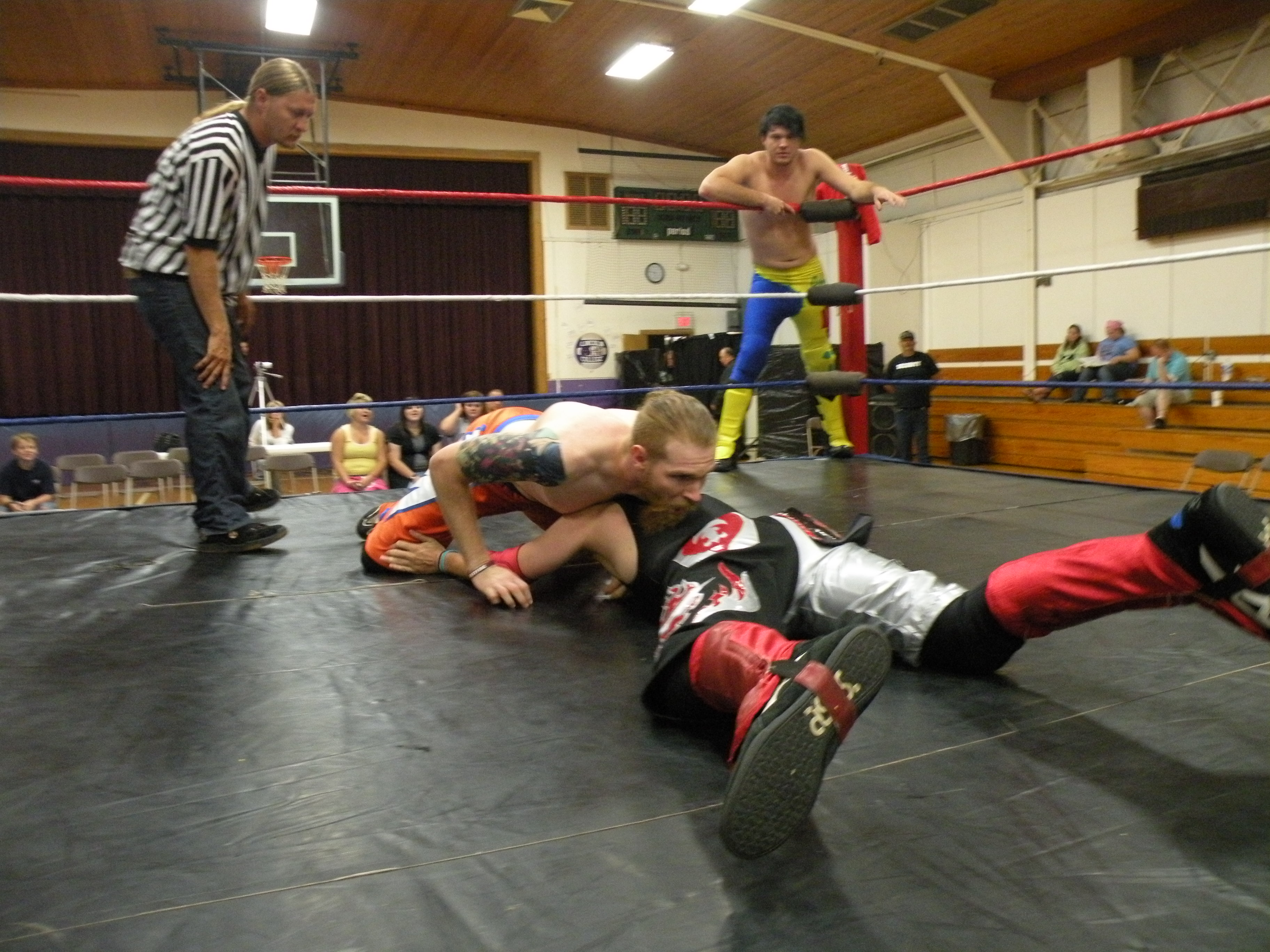 """Gary J and Davey Vega know each other very well. (Photo Credit Brian """"Flair"""" Kelley)"""