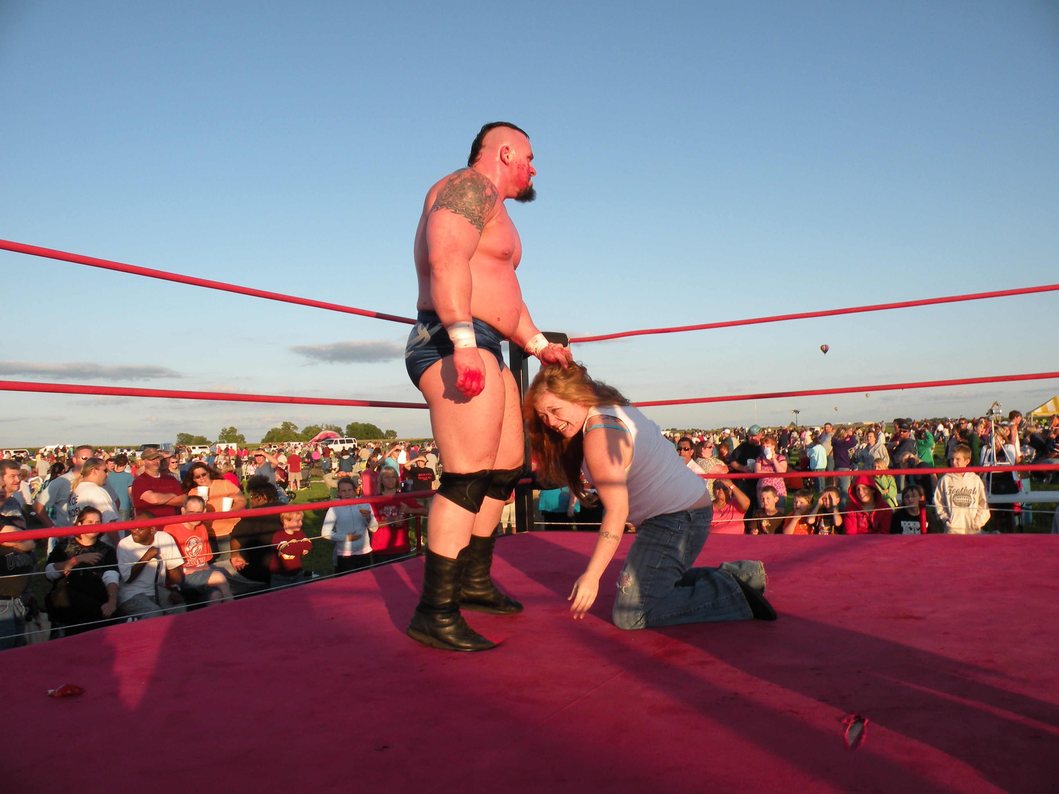 "Walker is one man who loves to bring the pain but would he hit a women?(Photo Credit Brian ""Flair"" Kelley)"