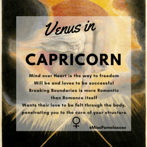 Dating venus in capricorn man