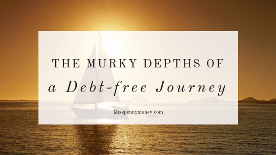 Trying to become debt-free – it's not all plain sailing