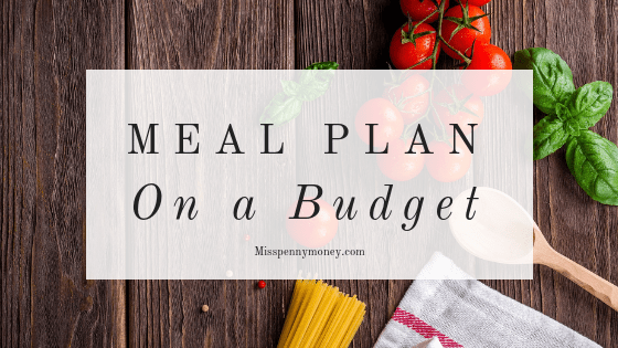 Meal Plan on a budget