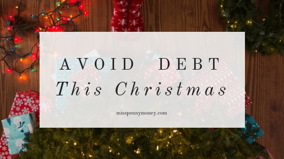 How to avoid debt this Christmas