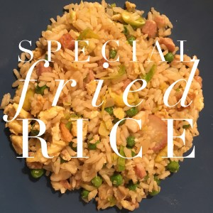Cheap meal ideas, special fried rice