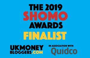 Best New Money Blog Finalists 2019 badge