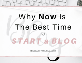 The Best Time to Start a Blog