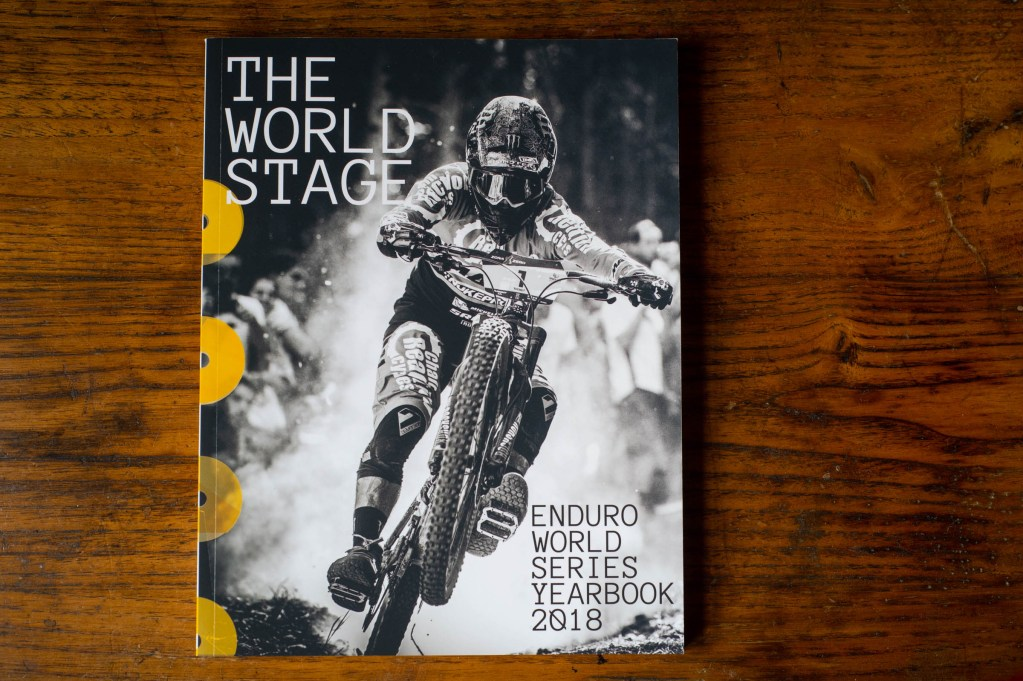 The World Stage 2018. Sam Hill killing it in the series and on the cover.