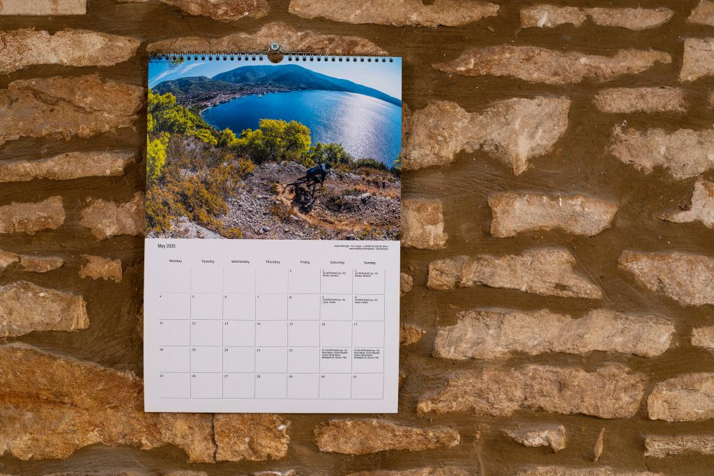 Mountain bike calendar 2020