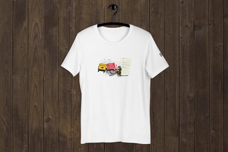Jon gregory t-shirt by Misspent Summers