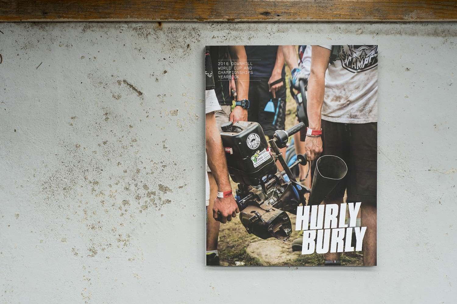 Hurly Burly downhill mountain bike book