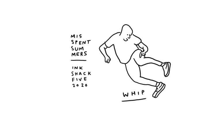 Bike moves t-shirt by Jon Gregory for Misspent Summers
