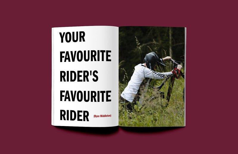 Shredder MTB mountain bike zine