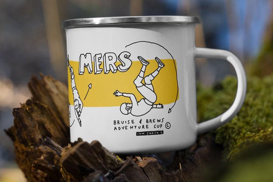 Jon Gregory mug Misspent Summers