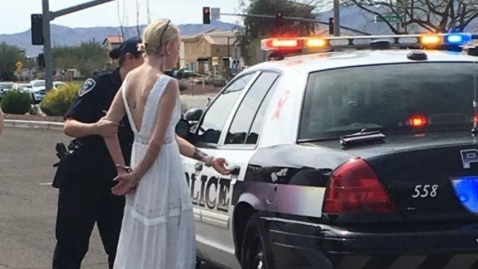 Police arrest bride for DUI on wedding day