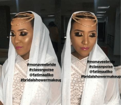 Fatima Dangote glows at her bridal shower
