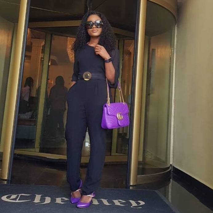 #BBNaija Cee-C steps out in style for media tour