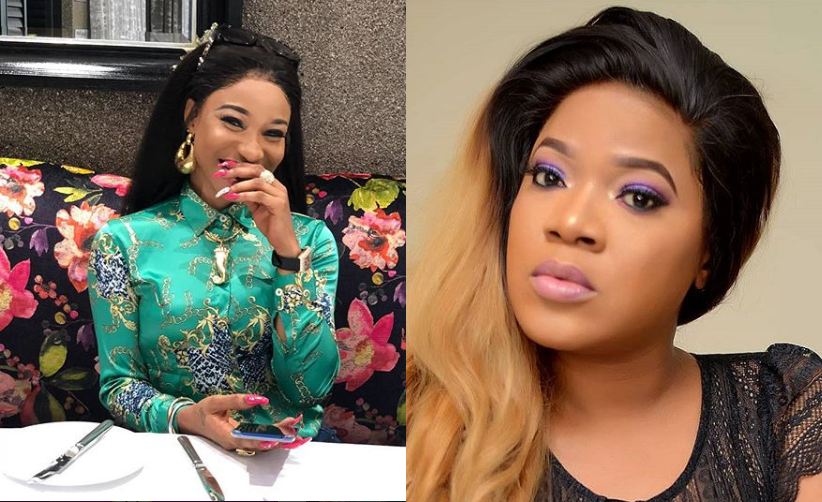 See how Tonto Dikeh celebrated Toyin Aimakhu's engagement
