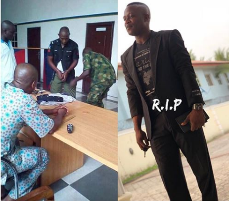 Photo of Policeman who killed a soldier in Port Harcourt