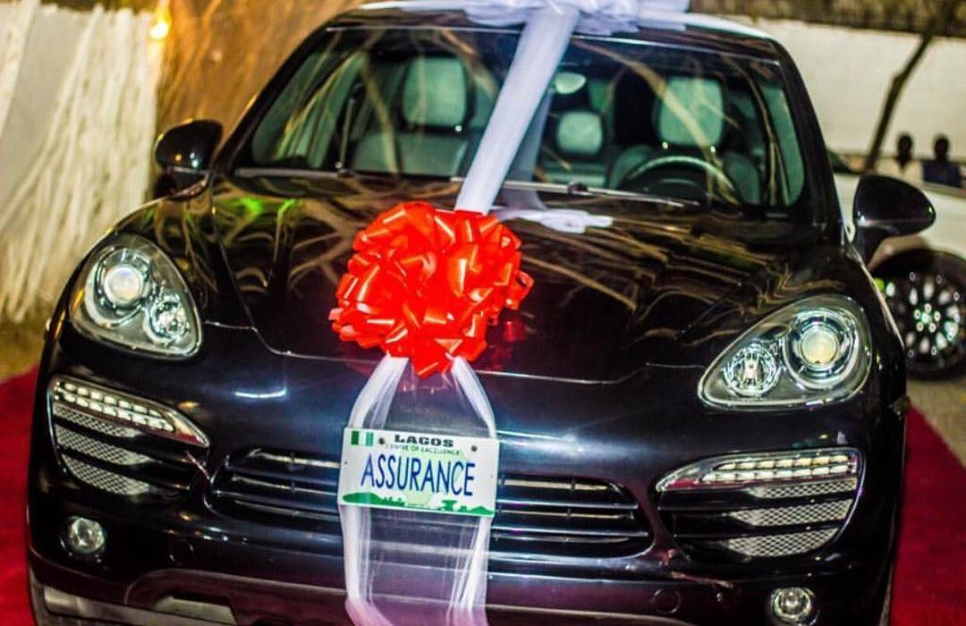 Revealed- The Real Worth of Davido's Porsche Gift to Chioma