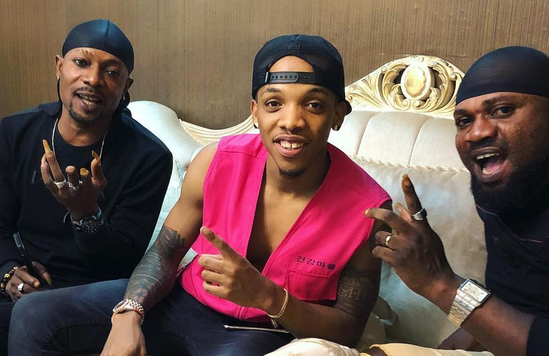 Photos :Tekno meets Danfo Drivers after they threatened him for sampling their song without permission