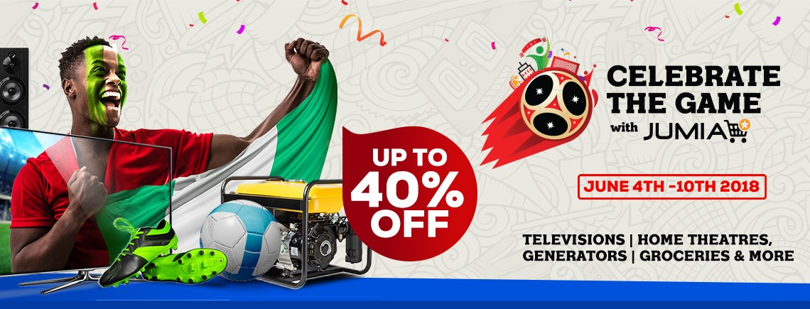 World Cup: Jumia Nigeria to Reward Football Fans for Supporting the Super Eagles