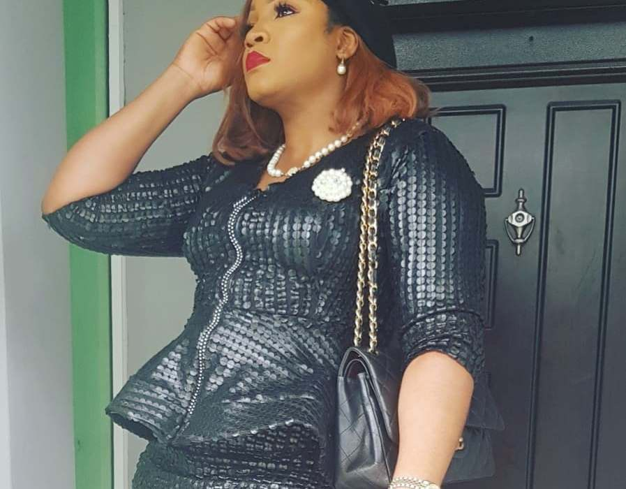 Omotola steps out in style