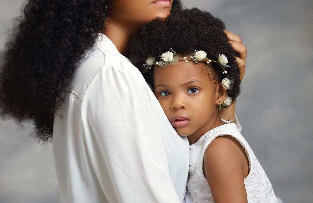This photo of Anna Banner and daughter Sofia is everything
