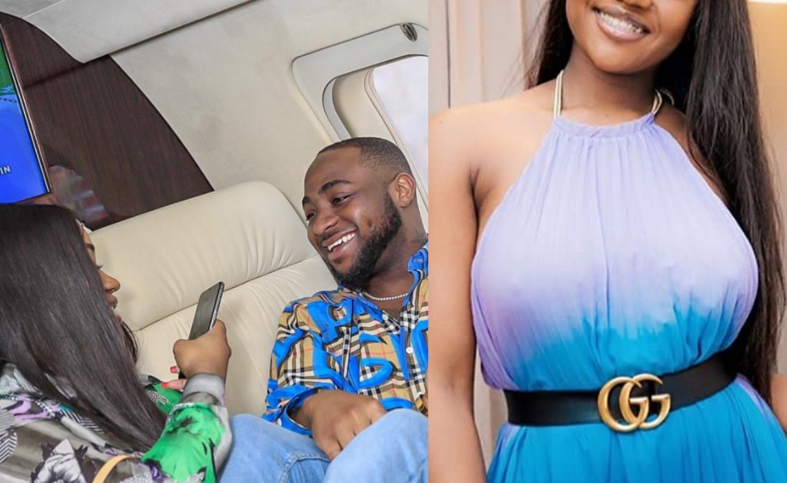 See the comment Davido left on Chioma's stunning photos