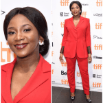 Genevieve Nnaji's style at TIFF for the premiere of Lion Heart