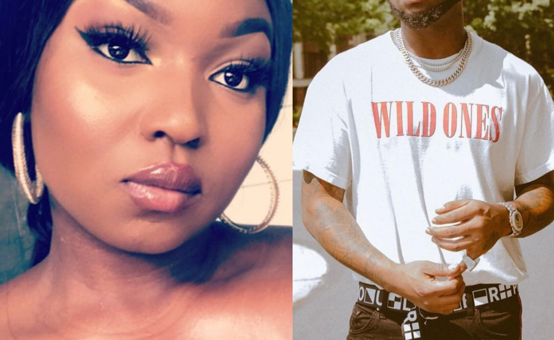 Davido is trash-Lady calls him out,claims he cheats on Chioma